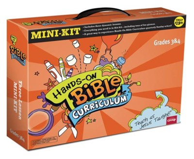 Hands-on Bible Curriculum, Mini-Kit--Grades 3 to 4   -