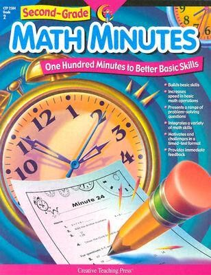 2nd-Grade Math Minutes  -     By: Creative Teaching Press & Angela Higgs, Angela Higgs