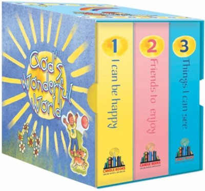 God's Wonderful World (set of 3)  -
