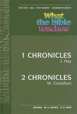 Wtbt 1 and 2 Chronicles  -     By: J. Hay Gustafson