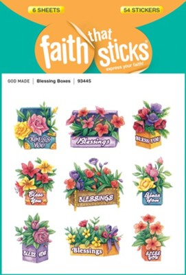 Stickers: Blessing Boxes  -