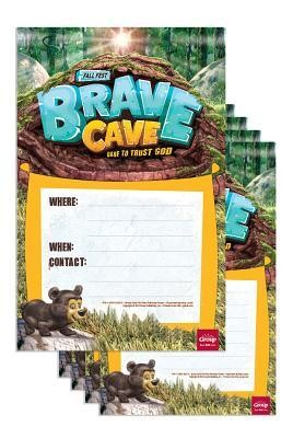 Brave Cave Publicity Posters, pack of 5   -