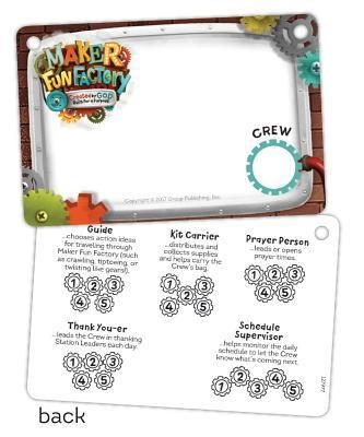 Maker Fun Factory VBS: Name Badges, 10 pk   -