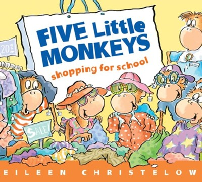 Five Little Monkeys Go Shopping  -     By: Eileen Christelow