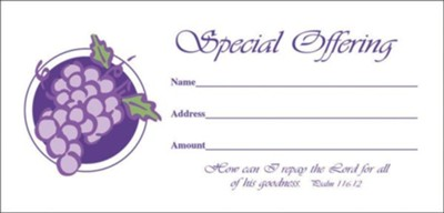 Special Offering Envelope, Package Of 100   -
