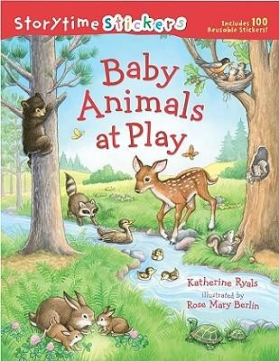 Baby Animals at Play  -     By: Katherine Ryals     Illustrated By: Rose Mary Berlin