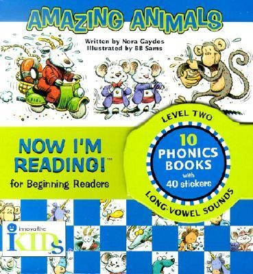 Now I'm Reading!: Amazing Animals - Level 2 [With Stickers]  -     By: Nora Gaydos     Illustrated By: BB Sams