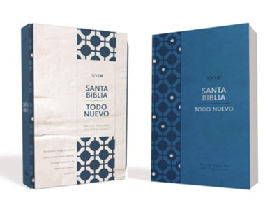Biblia Todo Nuevo NVI para el Nuevo Creyente (Everything New Bible for the New Believer, Soft-touch Blue)  -