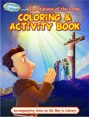 Coloring & Activity Book: Ep 14: Stations of the Cross  -