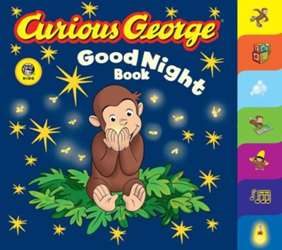 Curious George Good Night Book: A Tabbed Board Book  -     By: H.A. Rey