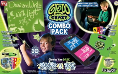 Glow Crazy: Combo Pack (Distance Doodler & Glow to Go)  -     Edited By: Rob Anderson     By: Rob Anderson(ED.)