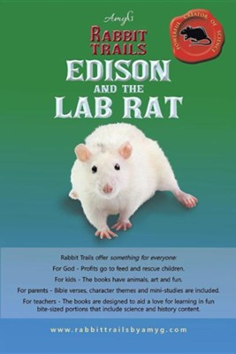 Rabbit Trails: Edison and the Lab Rat / Kiki and the Guinea Pig  -     By: Amy G