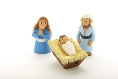 Birth of Baby Jesus Tales of Glory Play Set  -