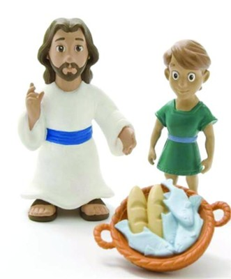 Jesus Feeds the Five Thousand Tales of Glory Play Set  -