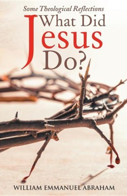 What Did Jesus Do?: Some Theological Reflections  -     By: William Emmanuel Abraham