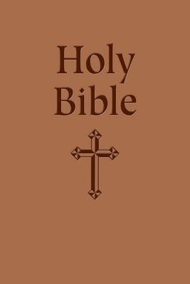 Gift Bible-Nabre New American Bi Edition, Imitation Leather, Tan  -     By: Our Sunday Visitor