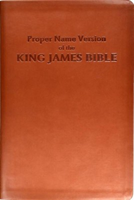 Proper Name Version of the King James Bible: With Cross-References and Concordance Index  -     By: Name Publishers