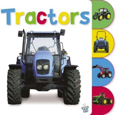 Busy Baby: Tabbed Tractors  -     By: Katie Cox