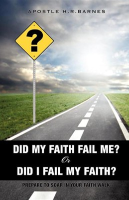 Did My Faith Fail Me or Did I Fail My Faith  -     By: H.R. Barnes