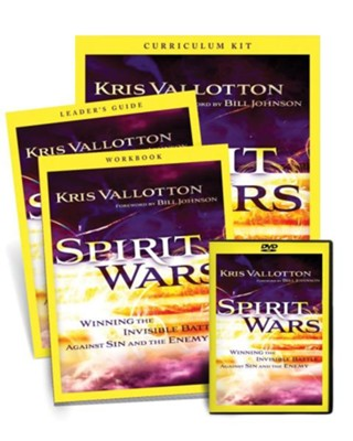 Spirit Wars Curriculum Kit  -     By: Kris Vallotton