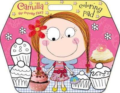 Camilla the Cupcake Fairy Coloring Pad  -     By: Karen Morrison