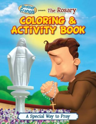 Coloring & Activity Book: The Rosary  -