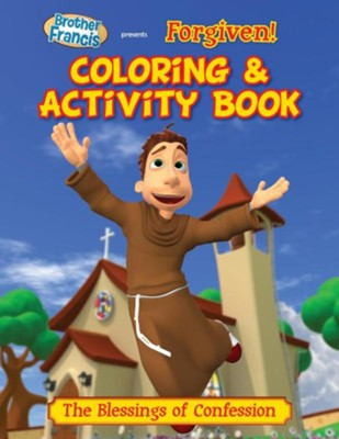 Coloring & Activity Book: Forgiven  -