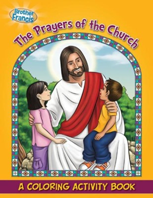 Coloring Book: The Prayers of the Church  -     By: Media Casscom