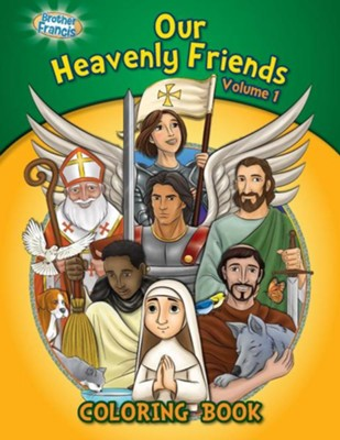 Coloring Book: Our Heavenly Friends V1  -     By: Media Casscom