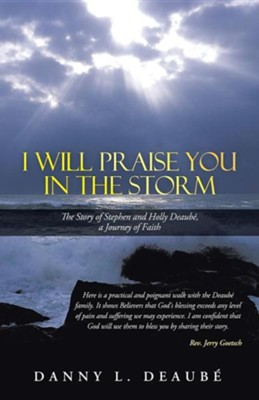 I Will Praise You in the Storm: The Story of Stephen and Holly Deaube, a Journey of Faith  -     By: Danny L. Deaube