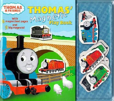 Thomas' Magnetic Playbook [With 9 Magnets]  -     By: Ted Gadecki(ILLUS)     Illustrated By: Ted Gadecki