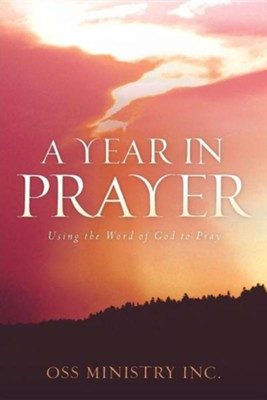 A Year in Prayer  -     By: OSS Ministry Inc.