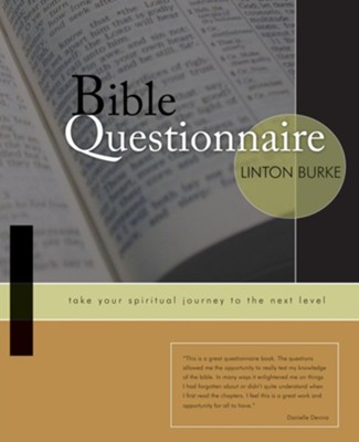 Bible Questionnaire  -     By: Linton Burke