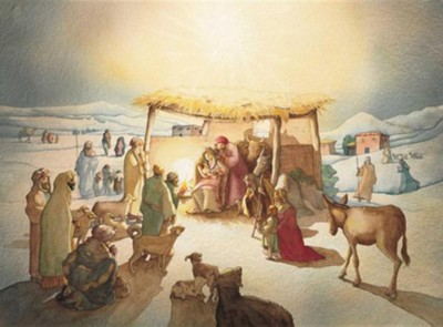 Let Us Adore Him Advent Calendar  -     By: Catherine Adam