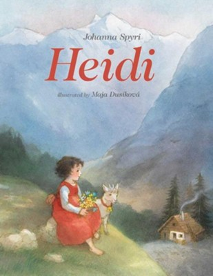 Heidi  -     By: Johanna Spyri     Illustrated By: Maja Dusikova