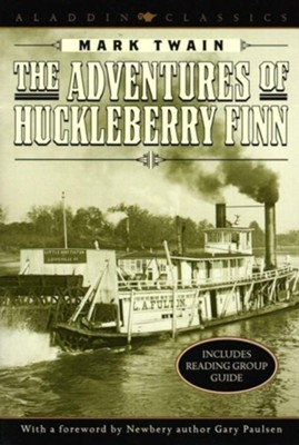 The Adventures of Huckleberry Finn   -     By: Mark Twain, Gary Paulsen