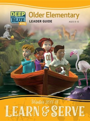Deep Blue Older Elem Leader Guide; Winter 2017-18 Quarter  -     By: Various