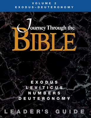 Journey Through the Bible Exodus - Deuteronomy Leader Guide  -     By: Rebecca Wright