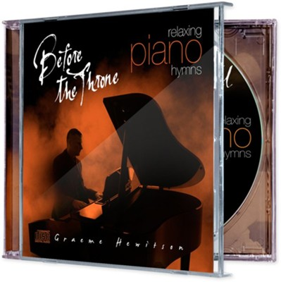 Before the Throne: CD - Piano  -     By: Graeme Hewitson