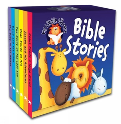 My Little Library - Bible Stories  -     By: Karen Williamson