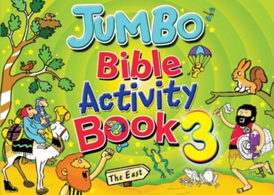 Jumbo Bible Activity Book  -     By: Tim Dowley
