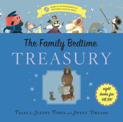 The Family Bedtime Treasury [With Audio CD]  -     By: Eileen Christelow