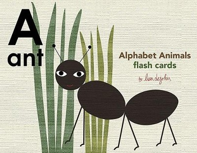 Alphabet Animals Flash Cards  -     By: Lisa Dejohn(ILLUS)     Illustrated By: Lisa Dejohn