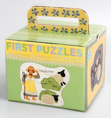 Mother Goose First Puzzle  -     By: Barefoot Books