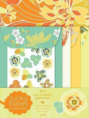 Lucky Flowers Mix & Match Stationery  -     By: Amy Butler