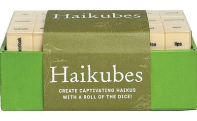 Haikubes [With Over 60 Word Cubes]  -     By: Forrest-Pruzan Creative