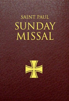 Saint Paul Sunday Missal: Burgundy LeatherflexBurgundy Leathe Edition  -