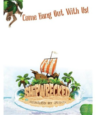 Shipwrecked: Publicity Posters (pkg. of 5)  -