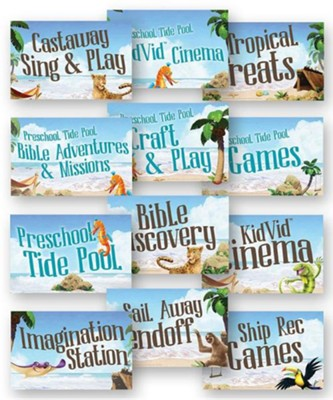 Shipwrecked: Station Signs (set of 12)  -