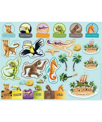 Shipwrecked: Sticker Sheets (pkg. of 10 sheets)  -